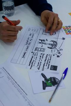 3. Participant explores how they want the object to transform for the future